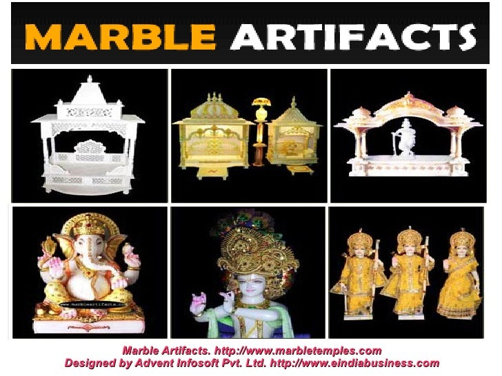 Marble Artifacts. http://www.marbletemples.comDesigned by Advent Infosoft Pvt. Ltd. http://www.eindiabusiness.com