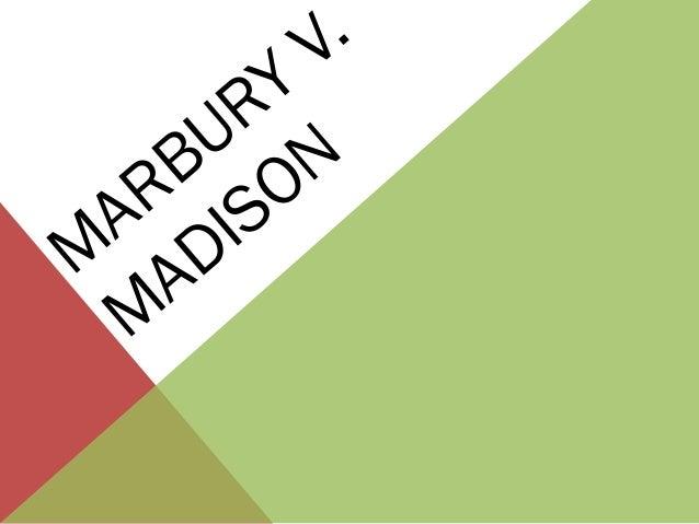 Marbury v madison 5
