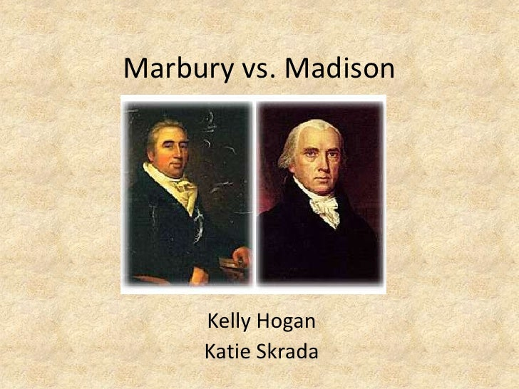 marbury v madison The case of william marbury and james madison may have seemed trivial in the early 1800s, but it had a lasting impact on the power of the supreme.