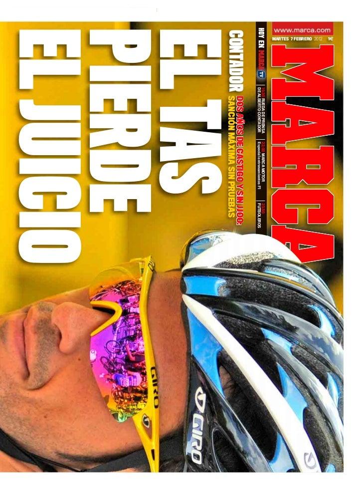 1€ MARTES 7 FEBRERO 2012                         19.30 RUEDA DE PRENSA   22.00 MARCA MOTOR            23.50               ...