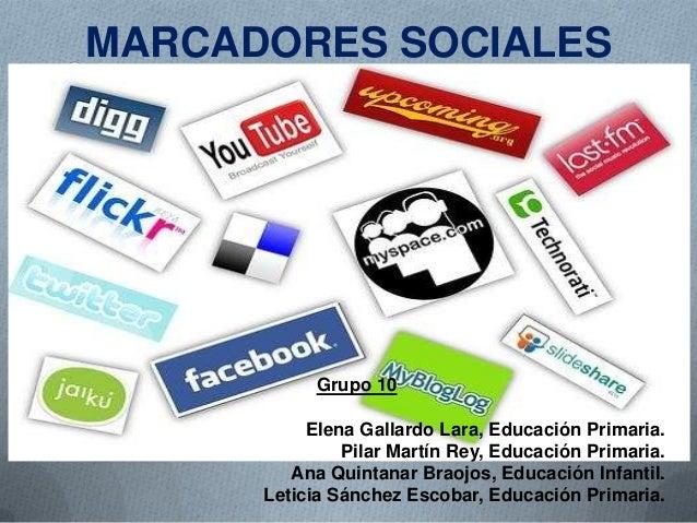Marcadores sociales power