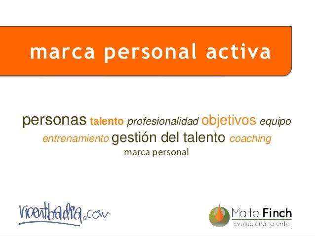 1 personas talento profesionalidad objetivos equipo entrenamiento gestión del talento coaching marca personal marca person...