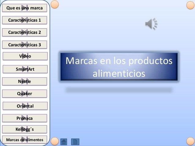 Marcas en los_productos_alimenticios