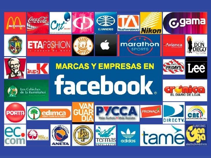 Marcas y empresas en Facebook