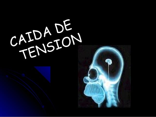 caida de tension
