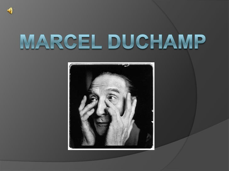 MARCEL DUCHAMP<br />
