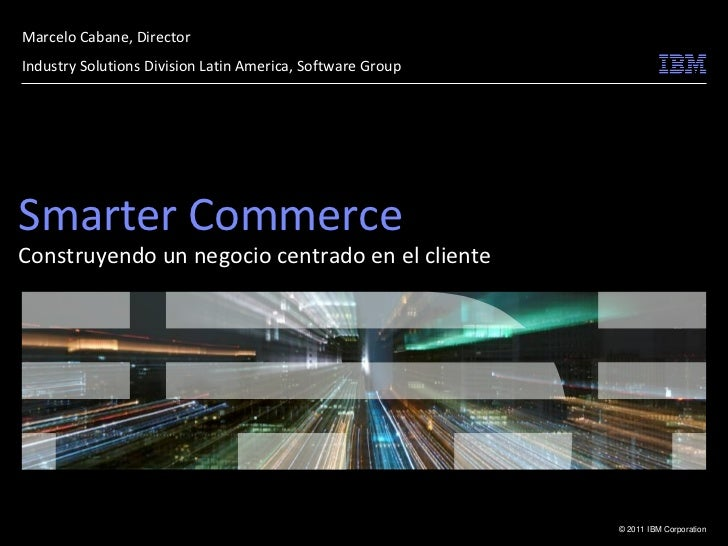 Marcelo cabane   ibm - ecommerce day