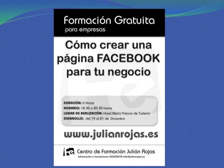 Crea una página de Facebook para tu empresa
