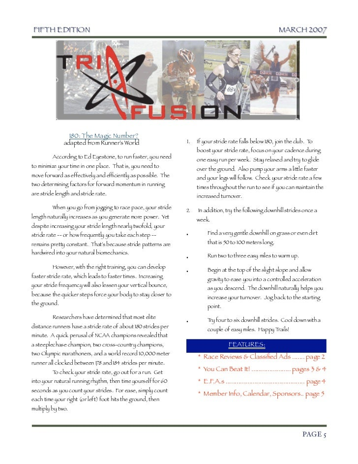 TriFusion Newsletter - Mar.'07