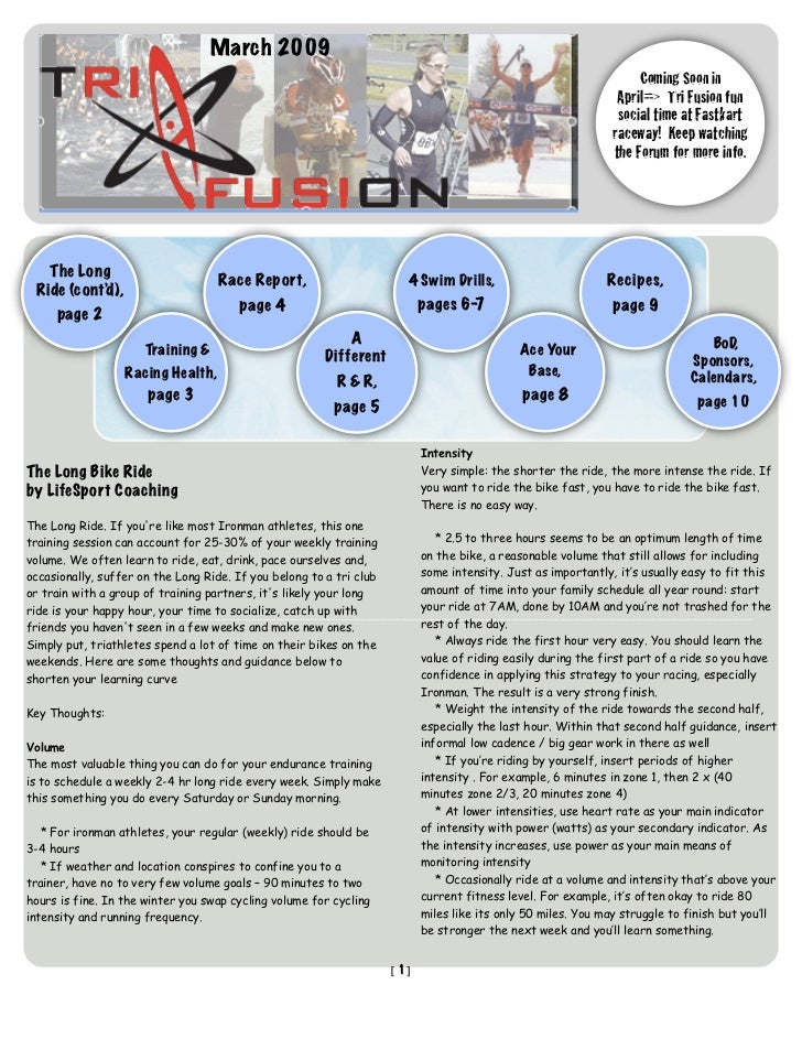 TriFusion Newsletter - Mar.'09
