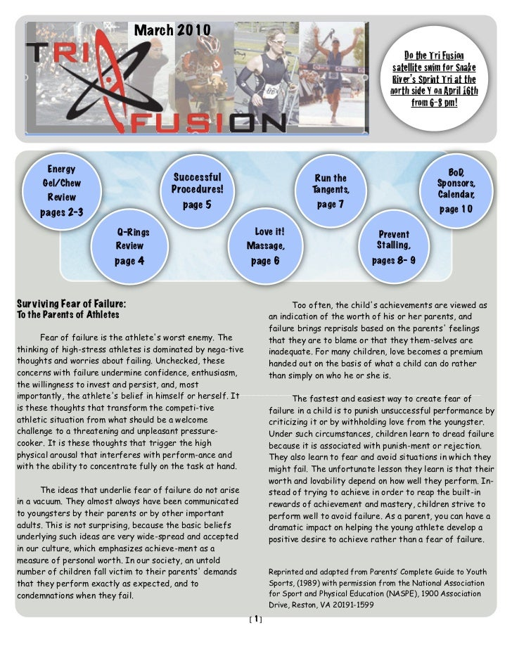 TriFusion Newsletter - Mar.'10