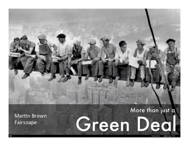 Revisited: More than just a Green Deal