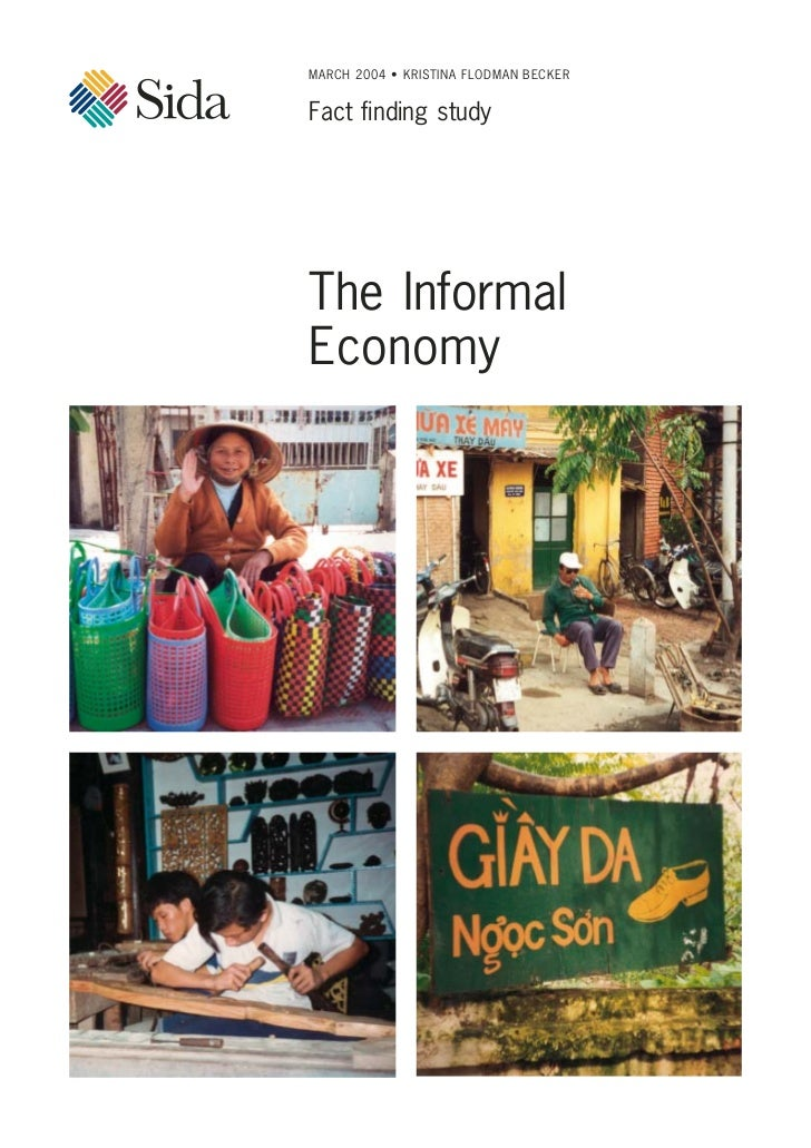 MARCH 2004 • KRISTINA FLODMAN BECKERFact finding studyThe InformalEconomy