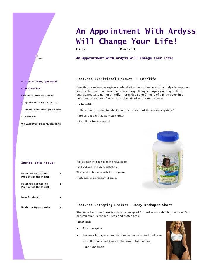 March 2010 newsletter