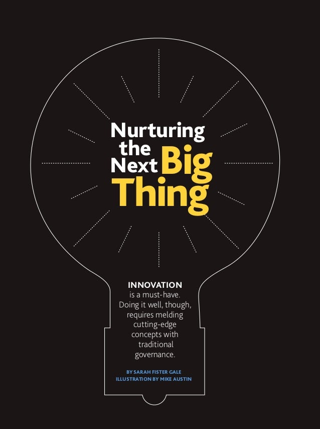 """""""Nurturing The Next Big Thing"""" from the March 2013 Issue of PM Network"""