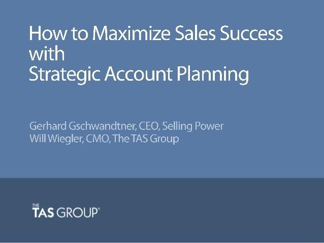 #accountplanning
