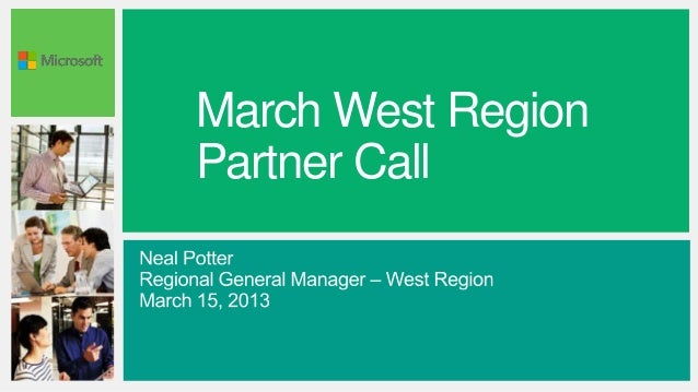 March West RegionPartner Call