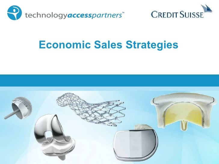 Economic Sales Strategies