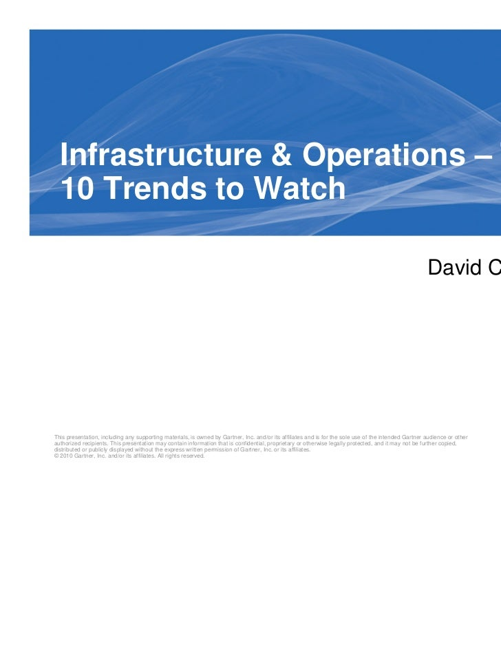 Infrastructure & Operations – Top  10 Trends to Watch                                                                     ...