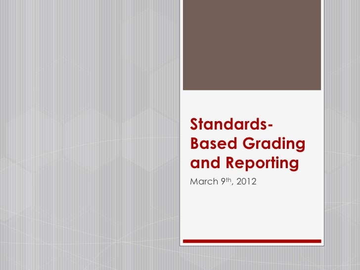 importance of grading system Still others advocated a mastery approach, in which the only important factor was   generally speaking, the greater the number of units in the grading system.