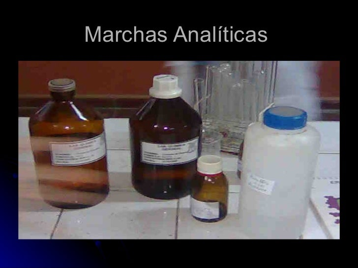 Marchas Analíticas