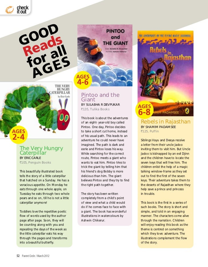 Ages to Stages Books for kids!