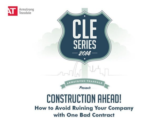 """CONSTRUCTION AHEAD!  How to Avoid Ruining Your Business with One Bad Contract"" Featuring David Loseman & Nicholas Garzia"
