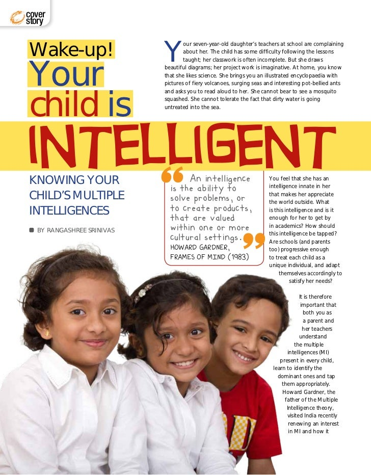 Know your child's MI