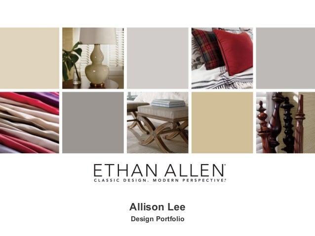 Allison LeeDesign Portfolio