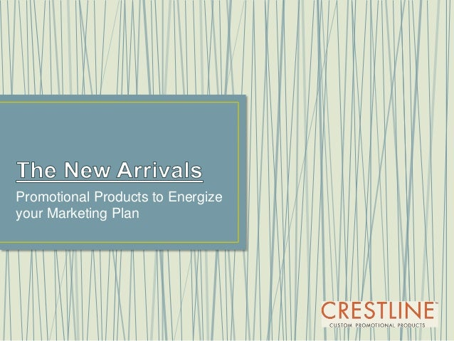 Promotional Products to Energize your Marketing Plan
