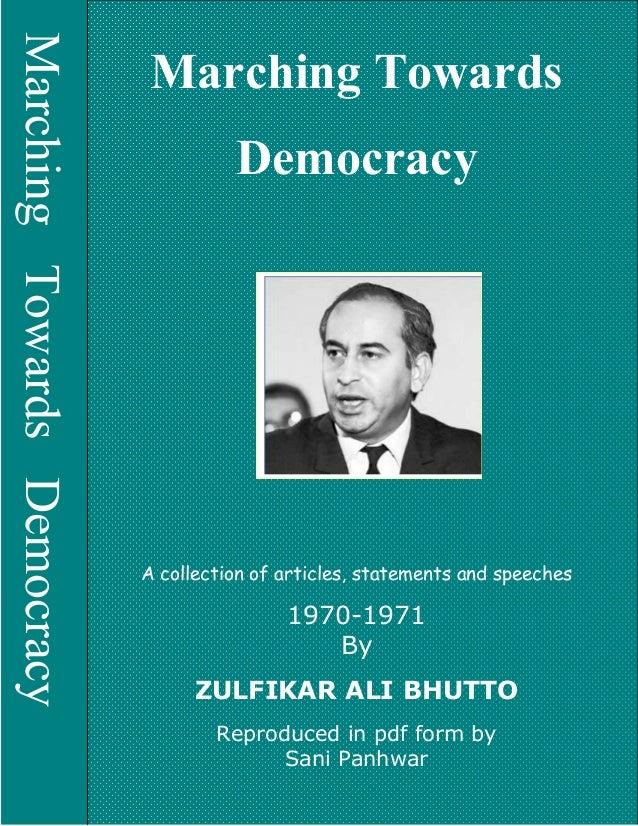 Marching towards democracy