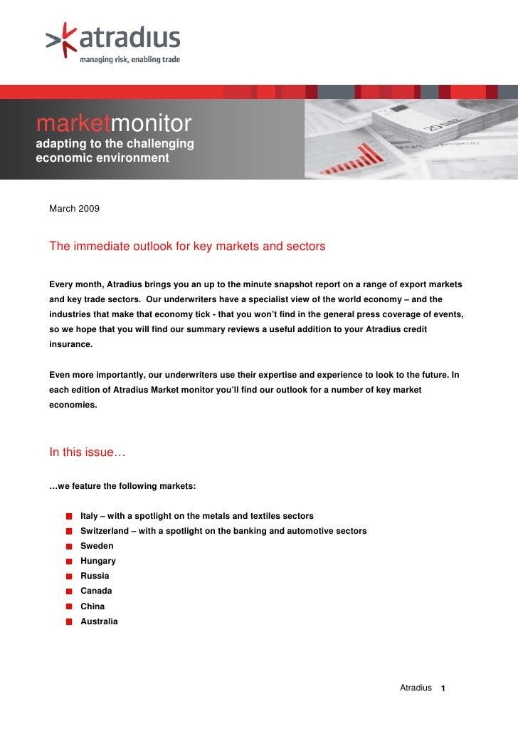 March MarketMonitor