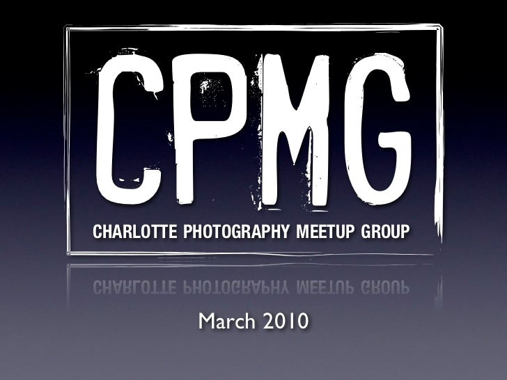 CPMG March Meeting