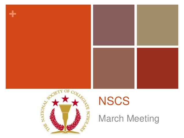 +    NSCS    March Meeting