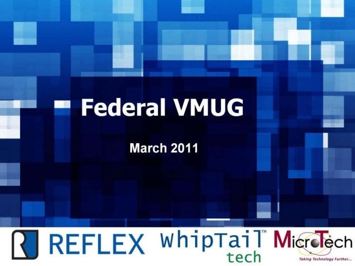 Federal VMUG - March - Main Deck & MicroTech VDI