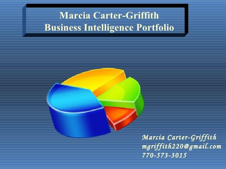 Marcia Griffith Portfolio