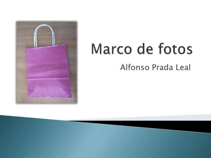 Alfonso Prada Leal