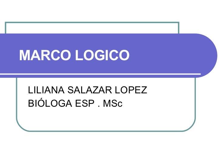 Marco Logico-Arbol de Problemas y Objetivos