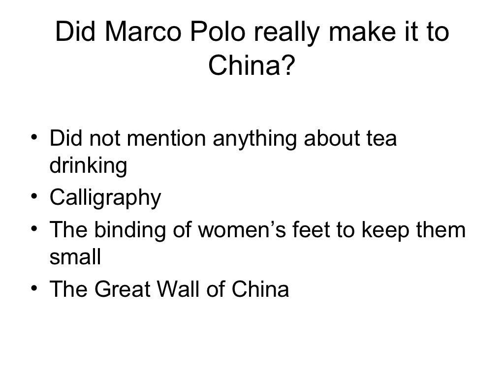 Marco Polo Marco Polo Timeline ~ appos.us