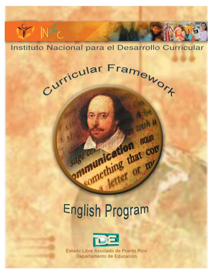 English Program Curricular Framework
