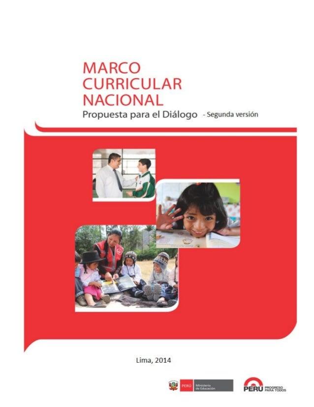 Marco Curricular Nacional   2da versión
