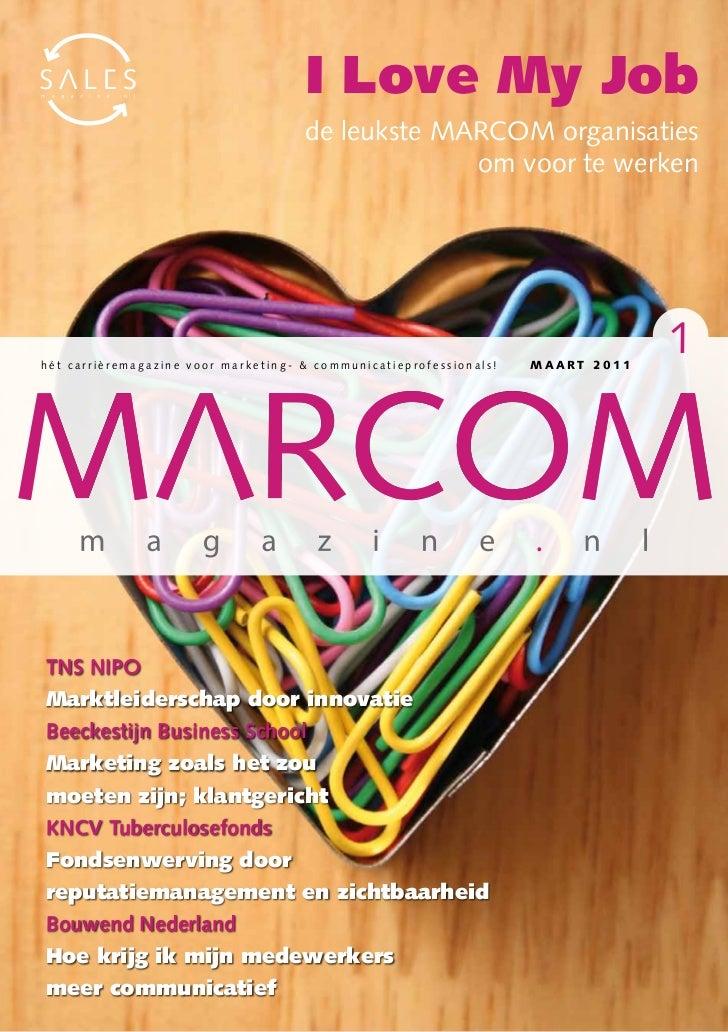 I Love My Job                                     de leukste MARCOM organisaties                                          ...