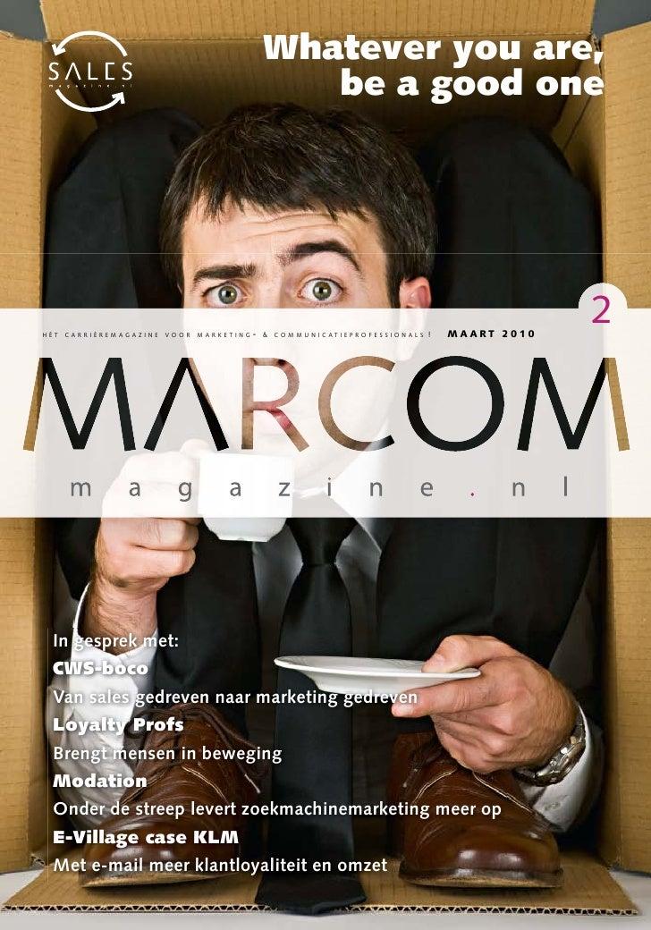 MARCOMmagazine Maart 2010