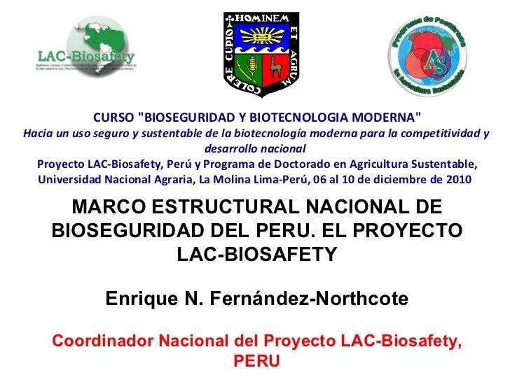 """CURSO """"BIOSEGURIDAD Y BIOTECNOLOGIA MODERNA"""" Hacia un uso seguro y sustentable de la biotecnología moderna para ..."""