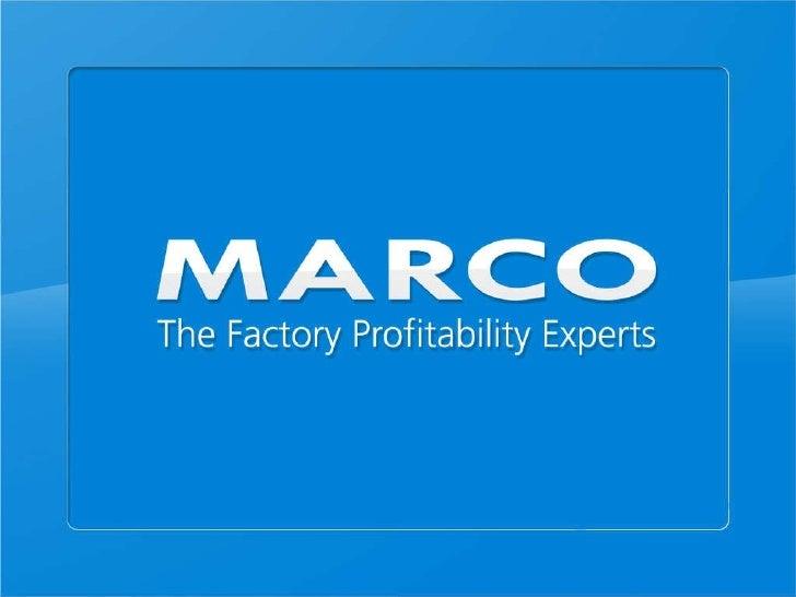 Marco presentation 30.09.10   5 d's french slide share