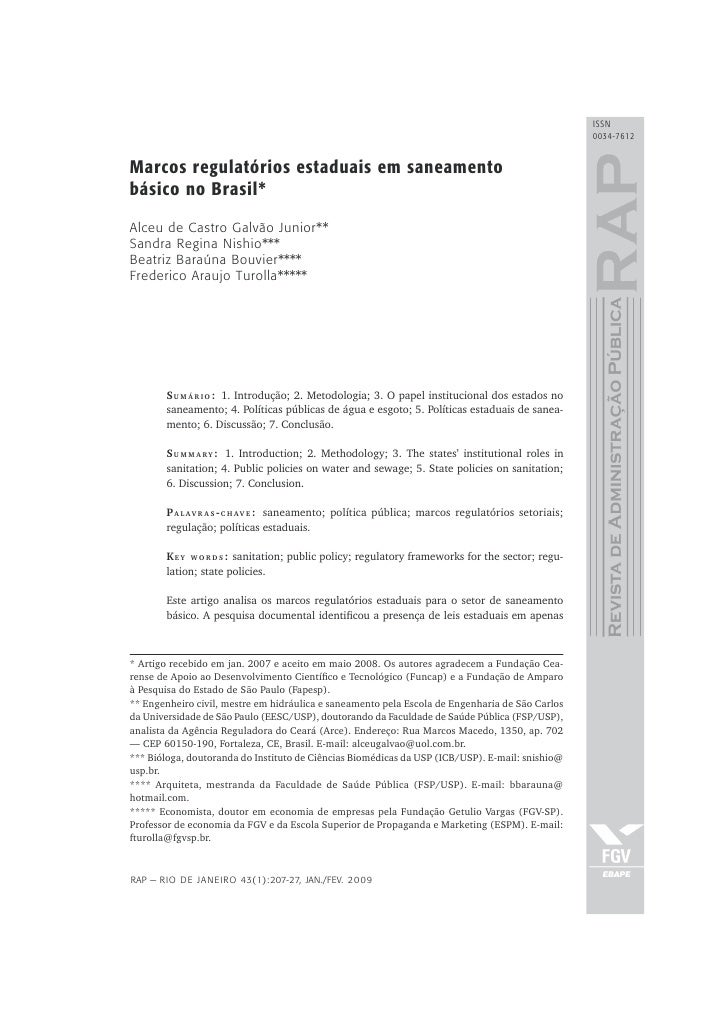 ISSN                                                                                                     0034-7612   Marco...