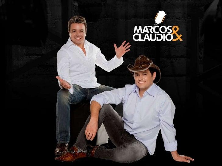 Marcos e Claudio - Apresentação