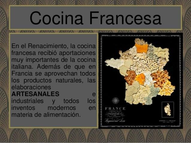 Propuesta para cocina francesa for Que es la cocina francesa