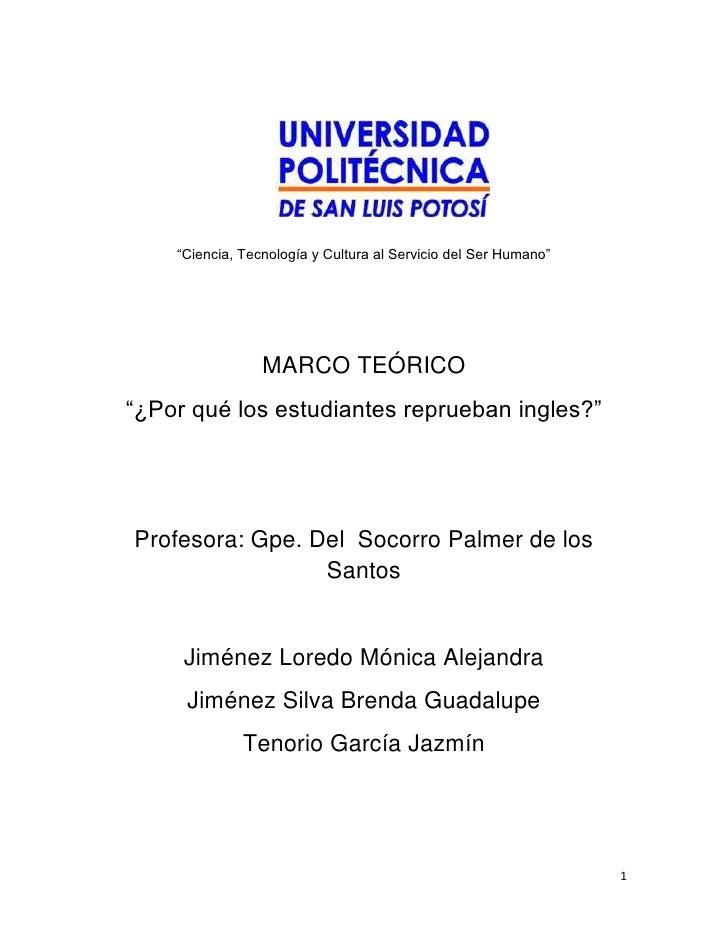 Marco teorico  nucleo general ii