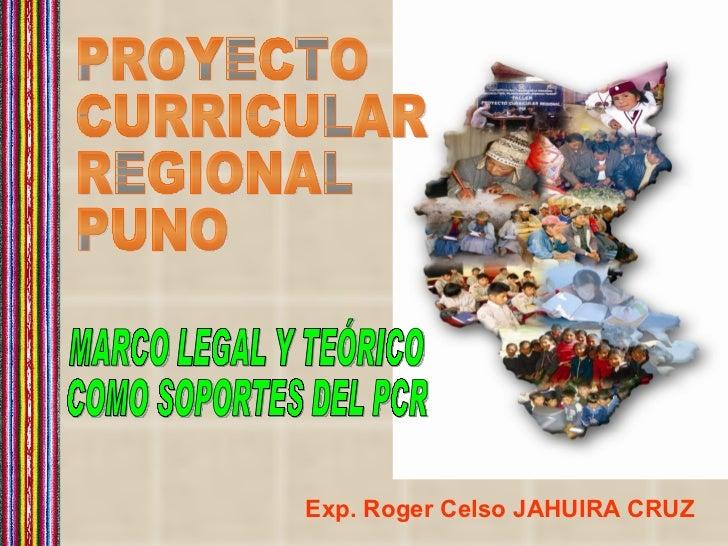 Exp. Roger Celso JAHUIRA CRUZ